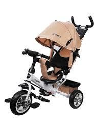 <b>Велосипед</b> 3кол. Comfort 10x8 EVA, бежевый <b>Moby Kids</b> 8049695 ...