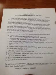 eng  essay on why someone should not join the militarycollege final exam on how to discourage someone from joining the military   imgur