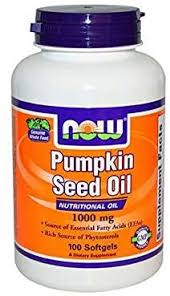 NOW Supplements, Pumpkin Seed Oil 1000 mg with ... - Amazon.com