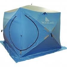 Купить <b>Зимняя палатка куб Woodland</b> Ice Fish Double ...