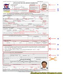 chasing variety how to fill up your cs form no csc career page 1