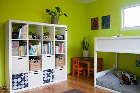 green boys bedroom