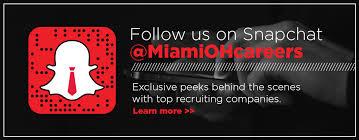 Career Services   Miami University Miami University Follow MiamiOHcareers on Snapchat