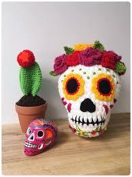 Beautiful <b>Sugar Skull</b> Amigurumi, Get the Crochet <b>Pattern</b>! | Crochet ...