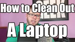 How do I clean my Laptop? <b>Blow</b> out the <b>dust</b> - YouTube