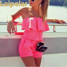 <b>Laipelar Women</b> Beach Jumpsuit 2018 Summer <b>Women</b> Fashion ...