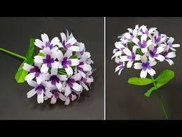 Beautiful Paper Craft Ideas! <b>DIY Handcraft</b> Stick Flower <b>Making</b> ...