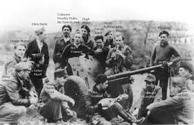 iconic photographs of british volunteers in the spanish civil war members of the british anti tank battery relaxing at their base in ambite in autumn 1937