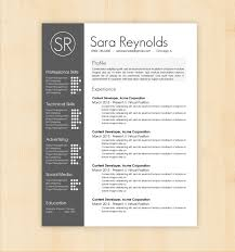 free resume template download on behance  seangarrette co  resume template   on behance  ff cfc e
