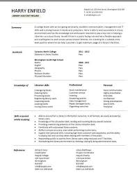 entry level resume templates  cv  jobs  sample  examples       entry level library assistant resume