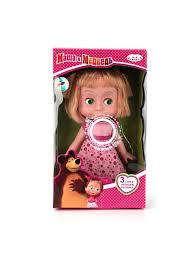 "<b>Кукла Карапуз</b> ""<b>Маша</b> и медведь"" Маша 25 см, озвученная, в ..."