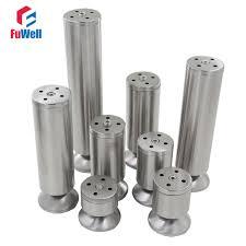 <b>4pcs Stainless Steel</b> Furniture Legs 60mm Base 60/80/100/120/150 ...