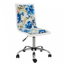 <b>Компьютерное кресло WOODVILLE Mis</b> white / flowers fabric (2шт ...