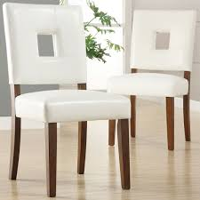 Faux Leather Dining Room Chairs Leather Seat Dining Chairs Searscom