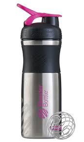 Бутылка-<b>шейкер спортивная BlenderBottle SportMixer</b> Stainless ...