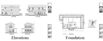 What    s Included In A Plan Set    Classic Cottageshouse plan elavations