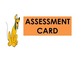 Image result for clip art for assessment cards