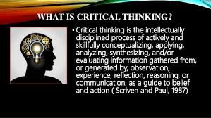 Paul Elder Critical Thinking Framework     University of Louisville     elements of thought intellectual standards