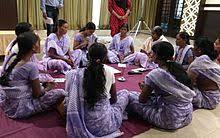A model self help group demonstrating at a seminar in Maharashtra  Wikipedia