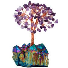 <b>TUMBEELLUWA</b> Natural Amethyst Citrine Money Tree,Aura ...