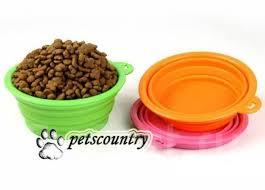 <b>Складная</b> силиконовая <b>миска</b> для собак и кошек, 320 мл ...