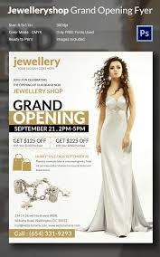 grand opening flyer template 34 psd ai vector eps format jewellery shop grand opening flyer