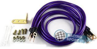 Набор <b>кабелей заземления</b> фиолетовый для универсальной ...