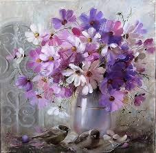 Одноклассники | Цветы <b>космеи</b>, Цветочные <b>картины</b>, Цветы