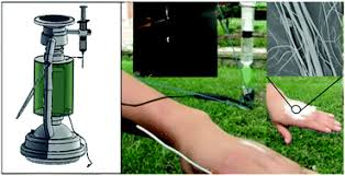 A portable electrospinning apparatus based on a small solar cell ...