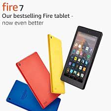 Fire <b>7</b> Tablet, 16 GB, Black-with Special Offers (Previous Generation ...