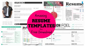 cool resume templates personal letter of recommendation 25 best resume cv templates psd at cool resume