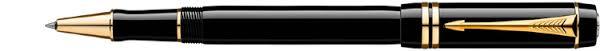 <b>S0690470</b> | <b>Ручка</b>-<b>роллер Parker</b> Duofold Black GT купить по ...
