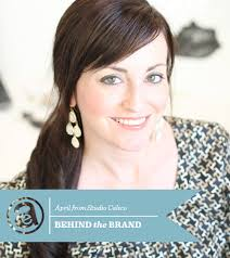 Today as part of the Behind The Brand series I would like to introduce you to April from Studio Calico. How did you get started with your business? - AprilFoster_BehindTheBrand