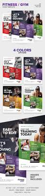 best ideas about templates for flyers bake fitness gym flyer template