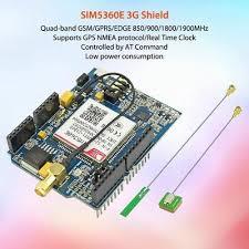<b>SIM5360E 3G</b> Shield <b>GSM</b>/<b>GPRS</b>/<b>EDGE</b> Shield for Arduino Uno ...