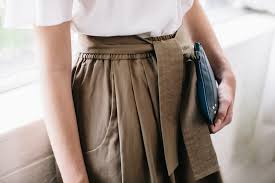 what to wear for a job interview ladies scout jobs drape tee by christopher esber karate pant by tome oxford brogues by dieppa restrepo pouch by jerome dreyfuss