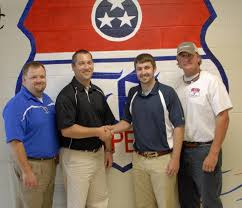 high school sports forrest welcomes new coach 8 3 11 marshall forrest principal danny morgan vice principal and former head basketball coach davy mcclaran new coach wes hobbs and fhs athletic director scott delk