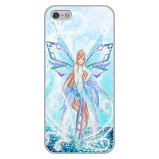"""Чехол для iPhone 5/5S, объёмная печать """"Bianka (Club Winx ..."""
