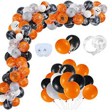 Auihiay 120 Pieces Halloween Balloons Arch Garland ... - Amazon.com