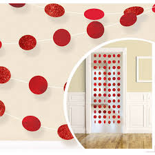 <b>Red Honeycomb</b> Decorating Kit | Party City
