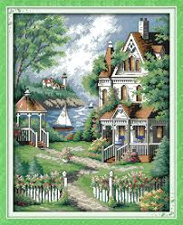<b>Everlasting love</b> Christmas European-style <b>villa</b> Ecological cotton ...