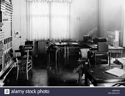 stock photo office office office space with furnishings 1920s 20th century work works office equipment typewriter typewriters tele century office equipment