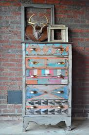 on hold for brooke tribal chest chevron southwest dresser chevron painted furniture