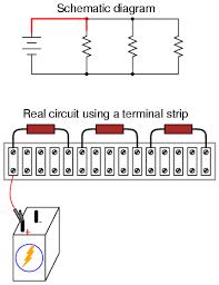 building simple resistor circuits   series and parallel circuits    building simple resistor circuits   series and parallel circuits   electronics textbook