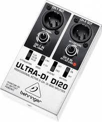 Купить DI-<b>БОКС BEHRINGER</b> DI20 <b>ULTRA</b>-<b>DI</b> с бесплатной ...
