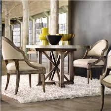 three piece dining set: hooker furniture maclange  piece bentley dining set