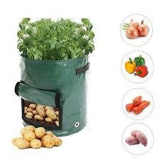 <b>DIY Potato Grow</b> Planter PE <b>Planting</b> Container Bag Vegetable ...