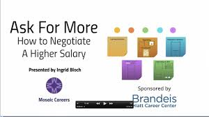 ask for more how to negotiate a higher salary ask for more how to negotiate a higher salary
