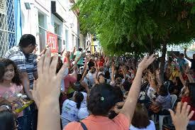 Resultado de imagem para greves do servidores de mossoró fotos