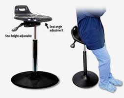 room ergonomic furniture chairs: medical leaning chair for operating rooms safety medical chair for surgeons standela sit